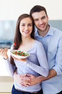 Happy Couple Stomach
