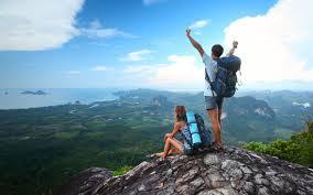 hiking peak