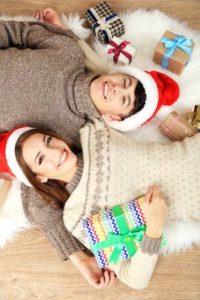 happy christmas couple2